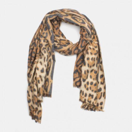 leopard halsduk