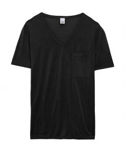 iris pocket tee black